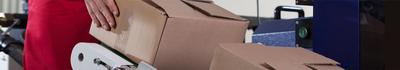 Wij helpen u met het verpakken van goederen